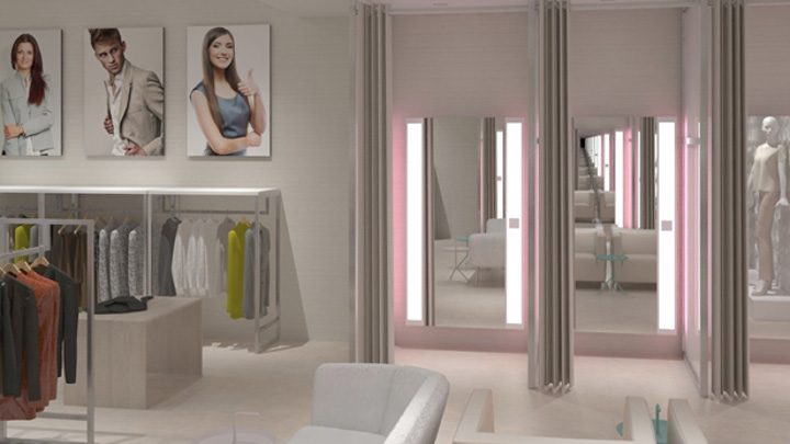 Best lighting for fitting rooms