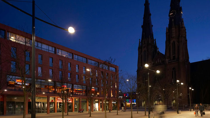 Urban lighting project by Philips lighting solutions