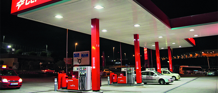Lighting for petrol and convenience stores - Philips retail lighting