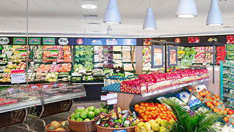 Closer look to Philips LED luminaires for fruits and vegetables
