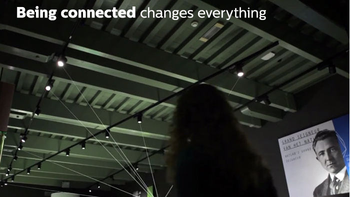 Connected lighting for retail