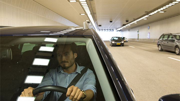 Keep drivers safe throughout your tunnel with intelligent tunnel lighting