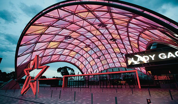 Adelaide Entertainment Centre lighting